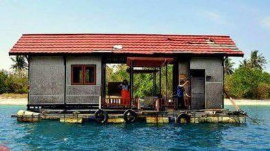 gambar rumah terapung