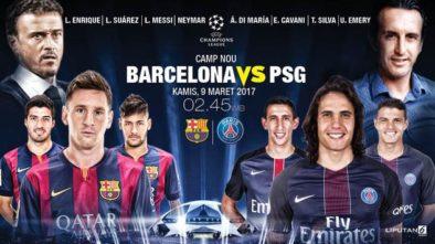 Barca vs PSG