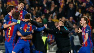 Barcelona Bantai PSG, Ciptakan Sejarah di Liga Champions
