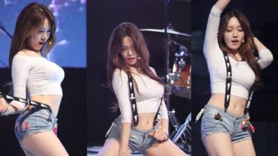 Penampilan Eunsol Dari Bambino Kpop Band