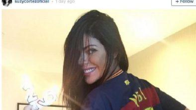 Usai Kalahkan PSG Miss BumBum Hadiahi Foto Bugil Untuk Fans Barcelona