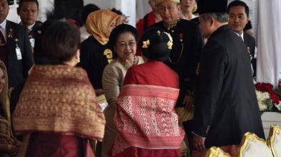 Kejutan HUT ke-72 RI, SBY dan Megawati Bersua di Istana Merdeka