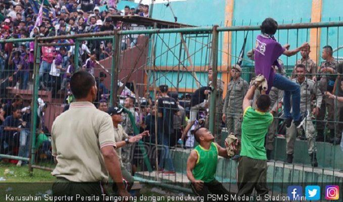 Bukan Suporter PSMS yang Bikin Kerusuhan di Markas Persita, Tapi...