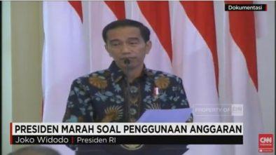 Video Presiden Jokowi Marah Besar, APBN & APBD Diecer-Ecer Tidak Produktif