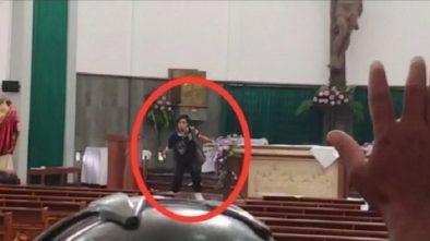 Ini Video Lengkap Saat Lumpuhkan Suliyono Penyerang Gereja Bedog