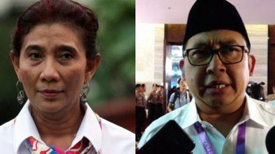 Menteri Susi Disindir Fadli Zon Soal Keberhasilan Kinerjanya, Susi Balik Tanya ke Fadli