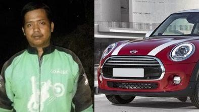 Dapat Mini Cooper Rp 12 Ribu, Driver Ojek Online Bingung