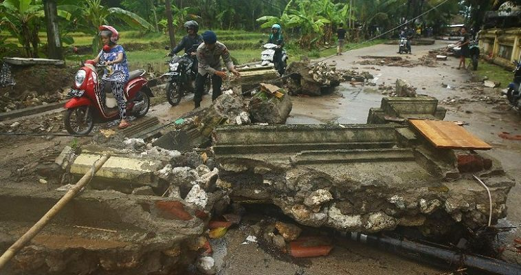 Korban Tsunami Banten Terbaru, 62 Orang Tewas, 584 Luka, 20 Hilang