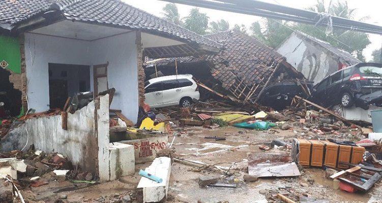 Korban Tsunami Selat Sunda Terbaru, 168 Orang Meninggal, 745 Terluka