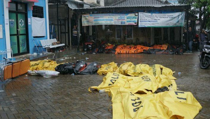Korban Tsunami Selat Sunda Terbaru, 222 Tewas, 843 Luka-luka, 28 Hilang