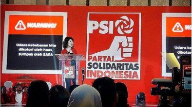 Pidato Politik di Bandung, Grace Natalie Ungkit Kebohongan Prabowo-Sandi