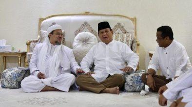 Beredar Maklumat Habib Rizieq Tinggalkan Prabowo, Siapa Bikin Hoax?