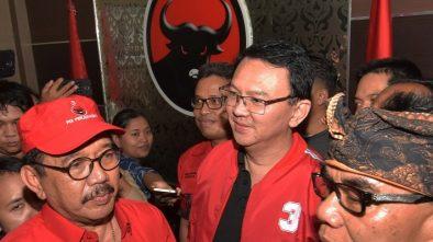 Resmi jadi Kader PDIP, Alasan Ahok: Garis Ideologi Sesuai
