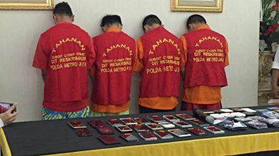 Sehari Raup Rp 10 Juta, 4 Sekawan Pelaku Order Fiktif GOJEK Ditangkap