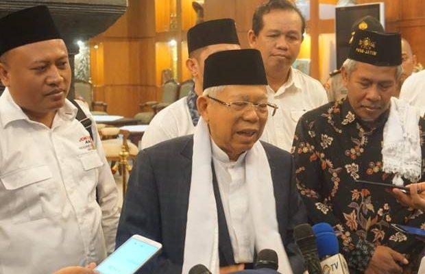 Ma'ruf Amin Sebut MUI Haramkan Golput pada Pemilu Itu Sudah dari 2014