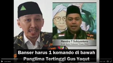 Peringatkan Kader Banser Abal-abal, Abu Janda: Hormati Kiai Sepuh