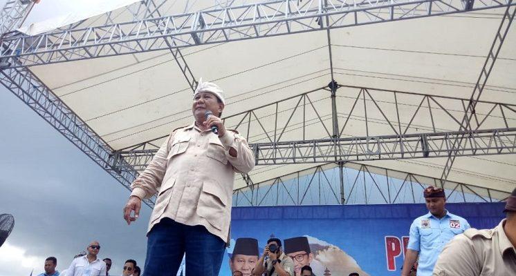 Prabowo Janji Turunkan Harga BBM, Sembako, Listrik di 100 Hari Pertama