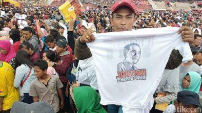 Ribuan Pekerja Se Jawa Timur Dukung Jokowi-Ma'ruf Amin, Ini Alasannya