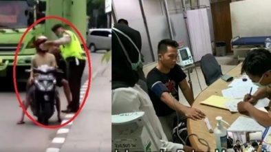 Video Viral Polisi Pukuli Warga karena Tak Terima Direkam Saat Menilang