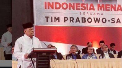 Gatot Nurmantyo Ungkap Kekecewaan Soal TNI di Acara Pidato Prabowo