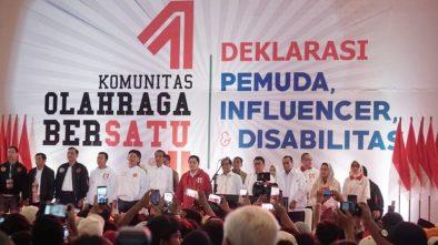 Jokowi: Ibu Pertiwi Sedang Mendulang Prestasi, Jangan Bilang Diperkosa