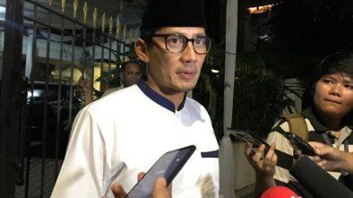 Lieus Ditangkap Polisi, Sandi Sebut Satu Lagi Pendukung Prabowo Dikriminalkan
