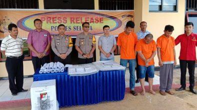 Polisi Tangkap 3 Oknum PPK yang Dijanjikan Rp 100 Juta Gelumbungkan Suara Caleg Gerindra