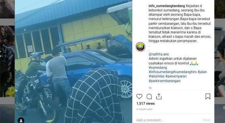 Polisi Tangkap Pengemudi Laki-laki Tampar Perempuan yang Videonya Viral