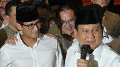 Prabowo-Sandiaga Putuskan akan Ajukan Gugatan Hasil Pilpres 2019 ke MK