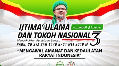 Rizieq Shihab Minta Jokowi Tobat 'Nasuha' Karena Curangi Pemilu