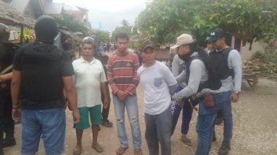 Penangkapan pelaku bentrok antar desa di Buton