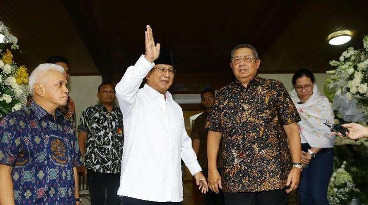Demokrat Sebut BPN Ngawur, SBY Minta Prabowo Cerita Kebaikan, Bukan Pilihan Politik Ani Yudhoyono