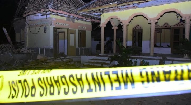 Ini Penyebab Ledakan Besar yang Rusak Pondok dan Musala hingga 2 Orang Terluka