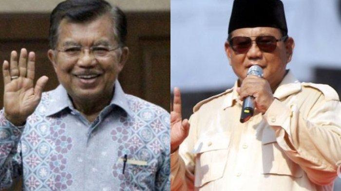 Jusuf Kalla Sebut Prabowo Menelepon Pendukungnya, Perintahkan Hentikan Semua Aksi Massa