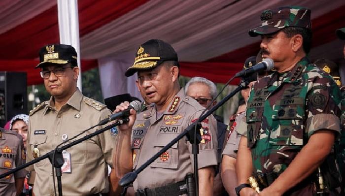 Kapolri Sebut Kami Tak Nyaman Tangani Kasus Purnawirawan TNI