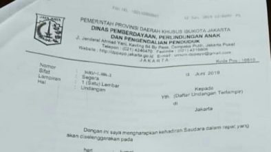 Pemprov DKI Jakarta Batalkan Acara Ini, Akibat Viral Surat Undang Muslimah HTI