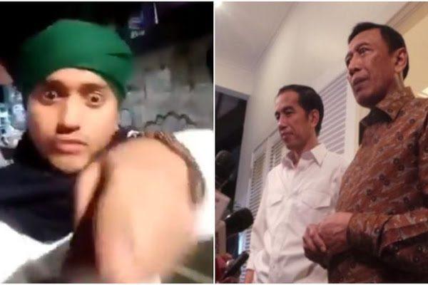 Polisi Tangkap Pria Berserban Hijau yang Ancam Jokowi dan Wiranto, Ini Sosok Aslinya