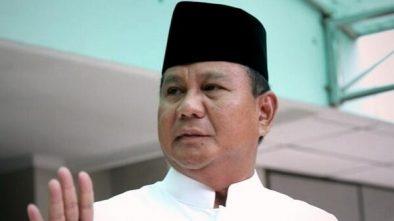 Prabowo: Mohon Maaf Lahir Batin Semoga Bisa Bertemu Ramadhan Lagi