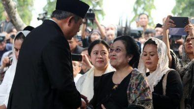 SBY-Megawati Bersalaman, TKN Sebut Perbedaan Politik Tak Memutus Kemanusiaan