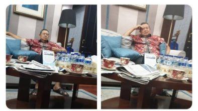 SBY Menangis Lagi Usai Baca Kumpulan Berita Kematian Ani Yudhoyono