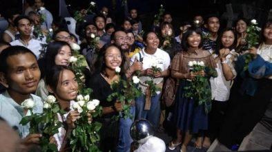 Umat Islam di Myanmar Dilarang Salat Tarawih, Umat Buddha Gelar Aksi Solidaritas